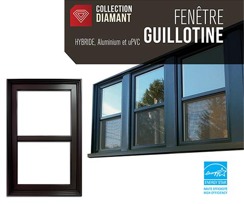 Fenêtres à Guillotine Hybride Futura Portes Et Fenêtres