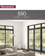 Brochures Porte-patio 550