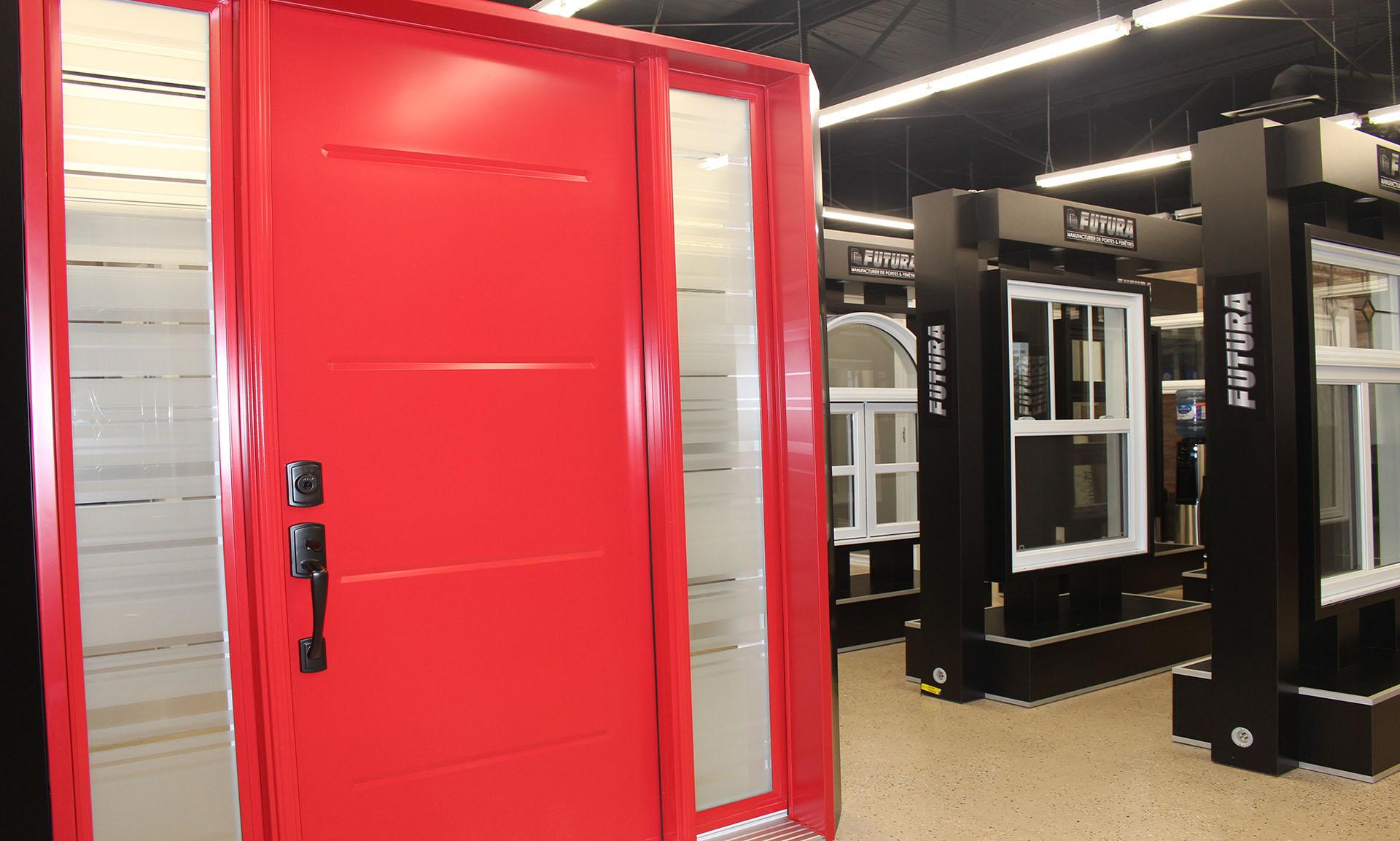 Salle de montre de Futura Portes et Fenêtres à Québec Pierre Bertrand